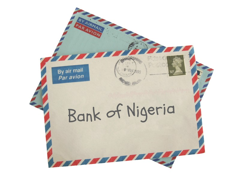 nigerian scam letter